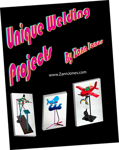 Book cover of Unique Welding Project by Zann Jones