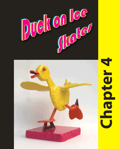 Chapter 4 - Welding project consisting of a duck on ice skates
