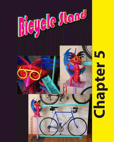 Chapter 5  - Whimsical bicycle stand